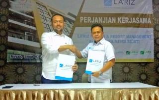 MOU LA'RIZ dan Saka Premiere Hotel Medan
